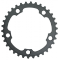 Shimano 105 FC5750 10 Speed Compact Chainrings - Black