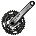 Shimano SLX M672 10 Speed Triple Chainset