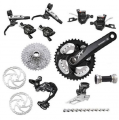 Shimano XT M785 10sp Complete Double Groupset