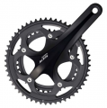 Shimano 105 5700 Double 10sp Chainset - Black