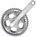 Shimano 105 CX50 Double 10sp Chainset Silver