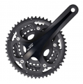 Shimano 105 5703 Triple 10sp Chainset - Black