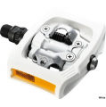 Shimano PD-T400 CLICK'R Clipless MTB Pedals - White