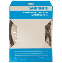 Shimano Road SIL-TEC PTFE Brake Cable Set - Black