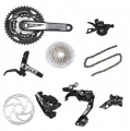 Shimano SLX M677 10sp Complete Double Groupset